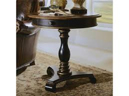 round pedestal accent table hooker furniture preston ridge round pedestal accent table belfort