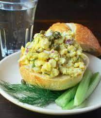egg salad ina garten recipe quick easy scrambled egg salad kitchn
