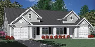 Duplex Plans With Garage Houseplans Biz Duplex House Plans Page 1