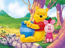 winnie the pooh and piglet disney cartoon honey pot hd desktop