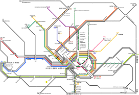 Vienna Metro Map by Vienna Map Travel Map Vacations Travelsfinders Com