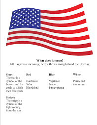 what does the color blue represent american flag quotes like success