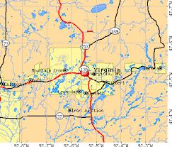 map mn virginia minnesota mn 55792 profile population maps