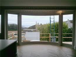 liberty valley doors custom windows large bowed window at san rafael residence