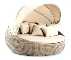 wicker outdoor daybed with canopy u2013 equallegal co