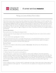 New Grad Resume Sample by Resume Examples Graduate Nurse Templates