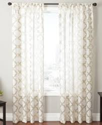 Macys Curtains For Living Room by Closeout Softline Sheer Samara Burnout 55