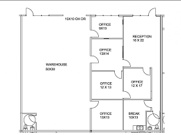 Small Office Floor Plan Fine Small Office Floor Plans 4 Offices Sample Plan Drawings