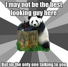 Pick Up Guy Meme - hilarious pickup line panda memes