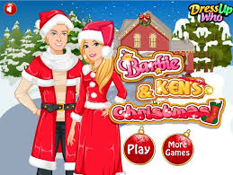 Barbie Room Game - barbies and kens christmas game