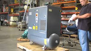 2005 atlas copco gx5 ff 7 5hp rotary air compressor air