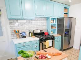 spraying kitchen cabinets repainting kitchen cabinets pictures options tips ideas hgtv