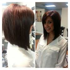 medium length layered bob haircuts with bangs 110 latest layered