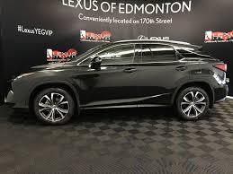 lexus rx 350 black new 2017 lexus rx 350 4 door sport utility in edmonton ab l13448