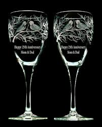 wedding gift glasses vancouver engraving and anniversary gifts glasses vases candle
