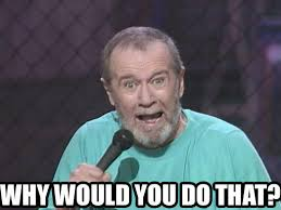 George Carlin Meme - image 56789 george carlin macros know your meme