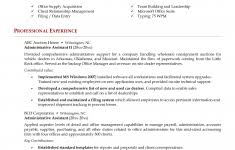 Sample Administrative Assistant Resume by Administrative Assistant Resume Example Inspiredshares Com