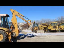 1988 case 580k backhoe for sale sold at auction february 5 2015