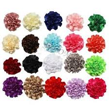 diy baby hair bows lot 20pcs diy ribbon flowers for corsage headband hair bow crafts