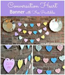 Valentine S Day Decor Printables by 14 Days Of Valentines Day 1