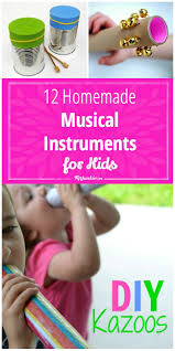 12 homemade musical instruments for kids tip junkie