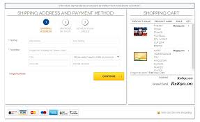 right sidebar how to put shopping cart on the right sidebar in checkout