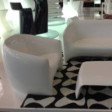 Armchair Toilet Blow Sofa Outdoor Polyethylene Lounge Divan With Lacquered Finish