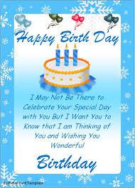 birthday wishes templates birthday card template cyberuse