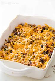 thanksgiving dinner casserole turkey black bean quinoa bake recipe simplyrecipes com