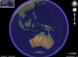 australia satellite map network connectivity australia japan cable
