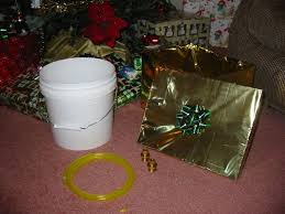 make a hidden christmas tree watering system 7 steps with pictures