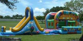 party rentals broward bounce house water slides childrens party rentals of south florida