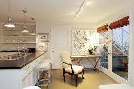 Kitchens With Track Lighting by Kitchen Peninsula Lighting Design Ideas