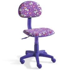 chaise de bureau violette chaise bureau enfant violet motif cœurs dimen achat vente
