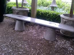 concrete patio benches home design ideas and pictures
