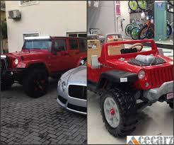 mini jeep wrangler celebrity kids who own mini luxury cars photos