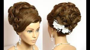 pics of bridal hairstyle hairstyle for long hair tutorial wedding bridal updo youtube