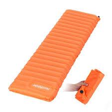 sigle camping inflatable air matress bed outdoor sleeping pads
