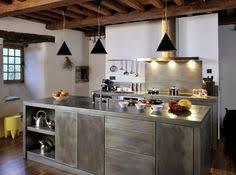 cuisine en metal plan de travail cuisine en 71 photos idées inspirations conseils