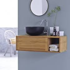 solid wood bathroom furniture and unusual basins from tikamoon