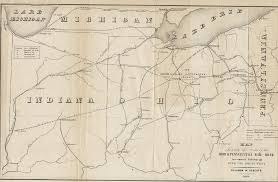 Ohio Canal Map by 1840 U0027s Pennsylvania Maps