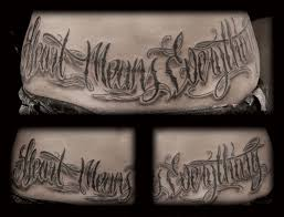letters designs for tattoos letter tattoo designs for men