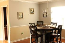 rustic wooden counter height farm table dining room paint color