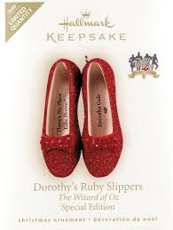 ruby slippers 2009 hallmark ornament home kitchen