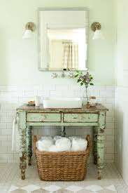 How To Install A Bathroom Sink And Vanity by Best 25 Vintage Bathroom Vanities Ideas On Pinterest Singer