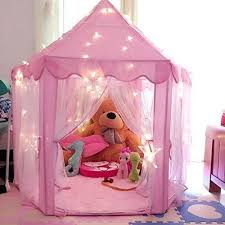 Dream Town Rose Petal Cottage Playhouse by Dream Town 952738 Rose Petal Cottage Indoor Playhouse Tent Pink Ebay