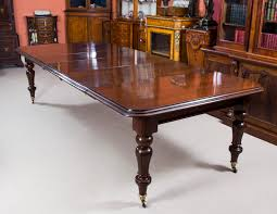 antique 10 ft william iv mahogany dining table c 1840