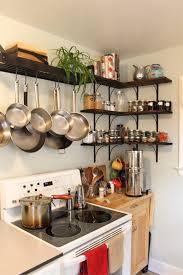 kitchen design ideas pot rack for small kitchen fascinating ideas