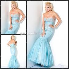 Light Blue Mermaid Dress Cheap Mermaid Dresses Cocktail Dresses 2016