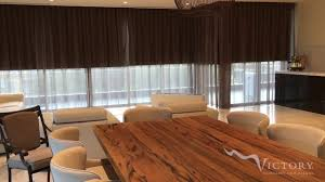 motorised sheer curtains u0026 roller blinds youtube